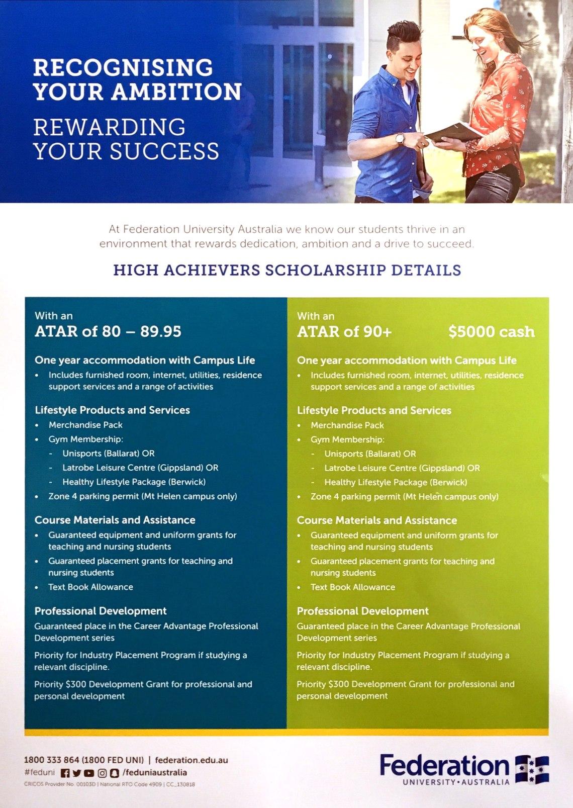 FedUni High Achievers Scholarship.jpg